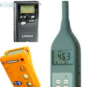 alquiler equipos de medicion alcomax, alcoholimetros, sonometros, detectores de gases