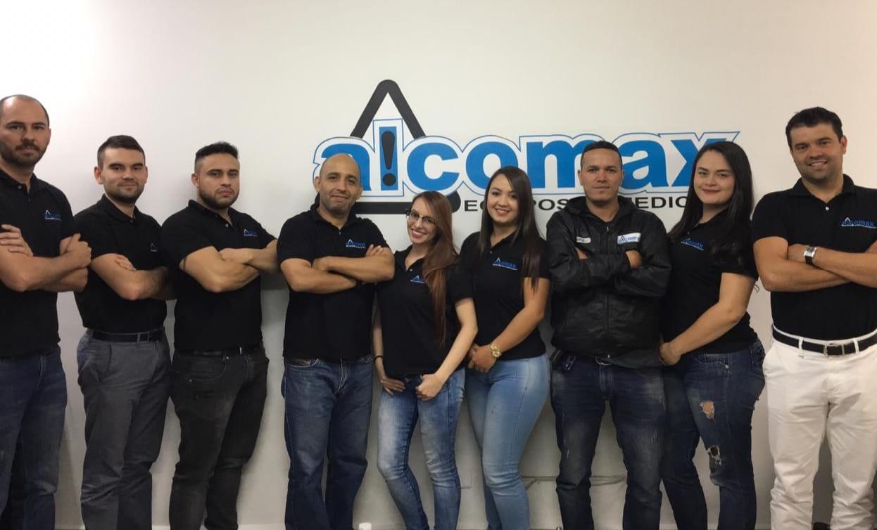 equipo de trabajo alcomax sas colombia