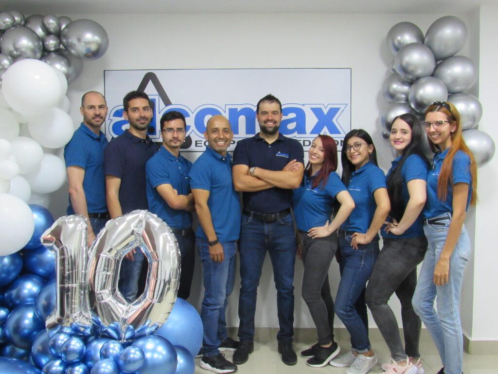 Foto alcomax equipo 10 años